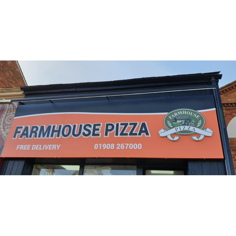 Farmhouse Pizza Milton Keynes Pizza Delivery Takeaway
