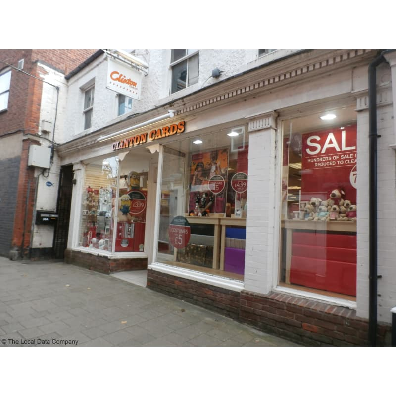 Clinton cards ashby de la zouch greeting card shops yell reheart Image collections