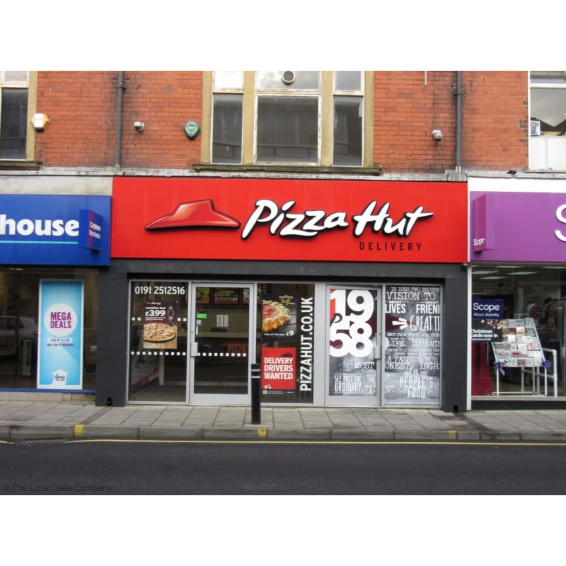 Pizza Hut Delivery Whitley Bay Pizza Delivery Takeaway
