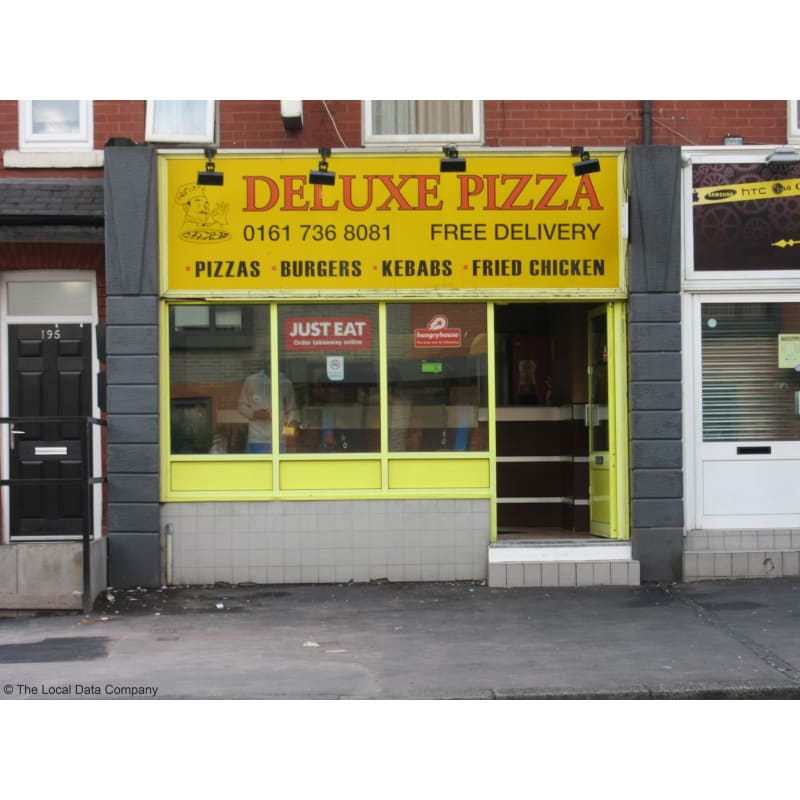 Deluxe Pizza Salford Pizza Delivery Takeaway Yell