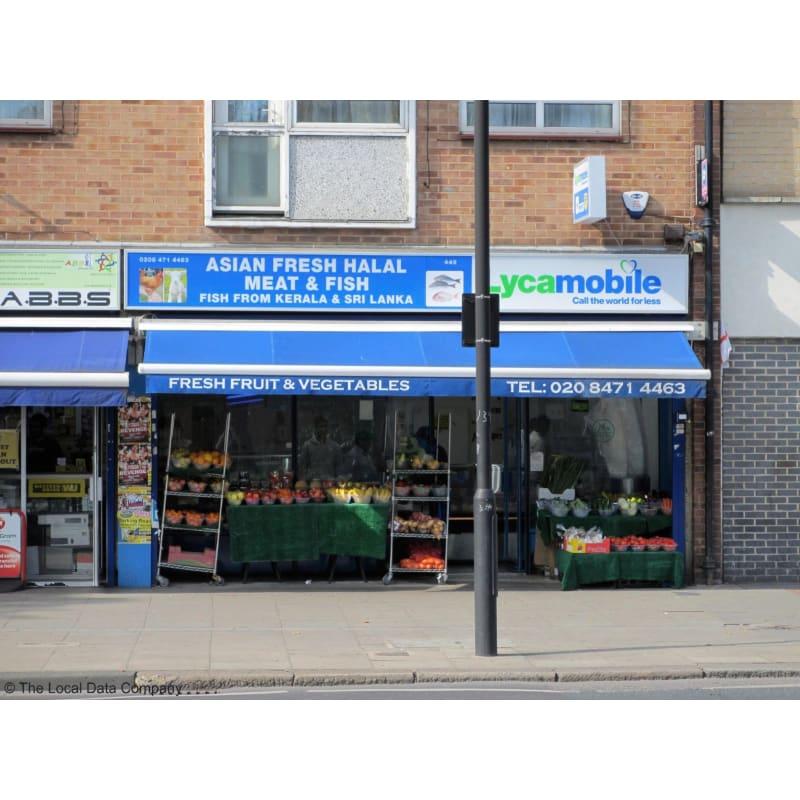 Asian Fresh Halal Meat Fish London Butchers Yell