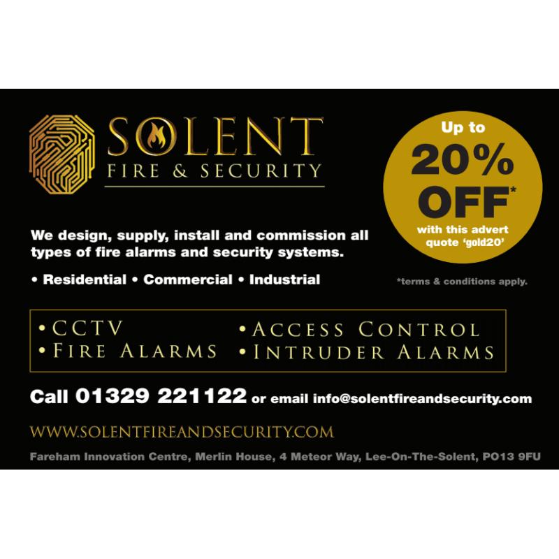 Solent Fire & Security Ltd, Lee-On-The-Solent | Burglar