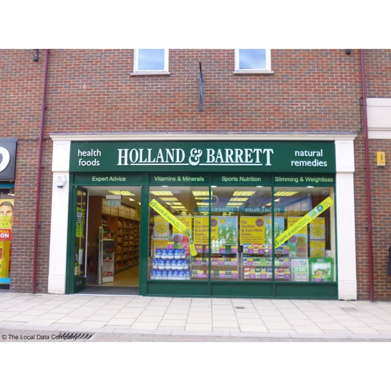 Holland Barrett Chesterfield Health Food Shops Yell