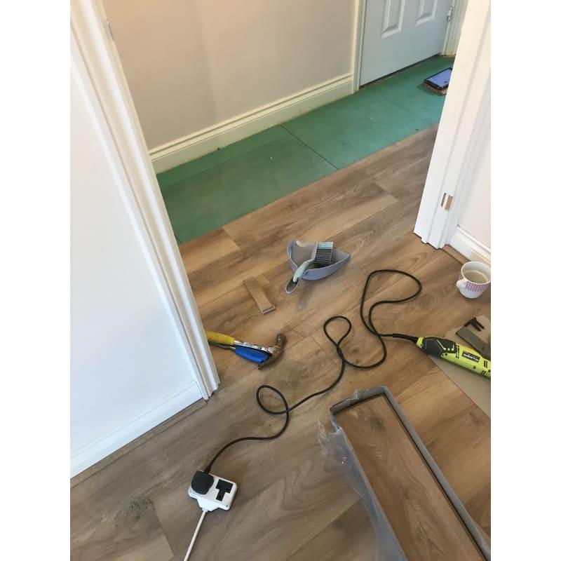 Handymanjoey Blackburn Wood Timber Laminate Flooring Yell