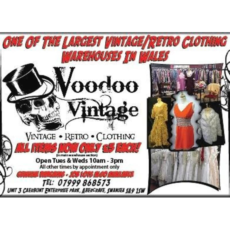 Voodoo Vintage, Swansea | Specialist Clothes Shops - Yell