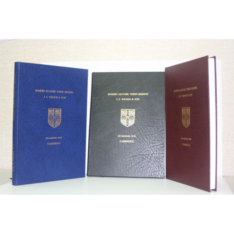 Wilson thesis binding cambridge top home work writing sites for phd