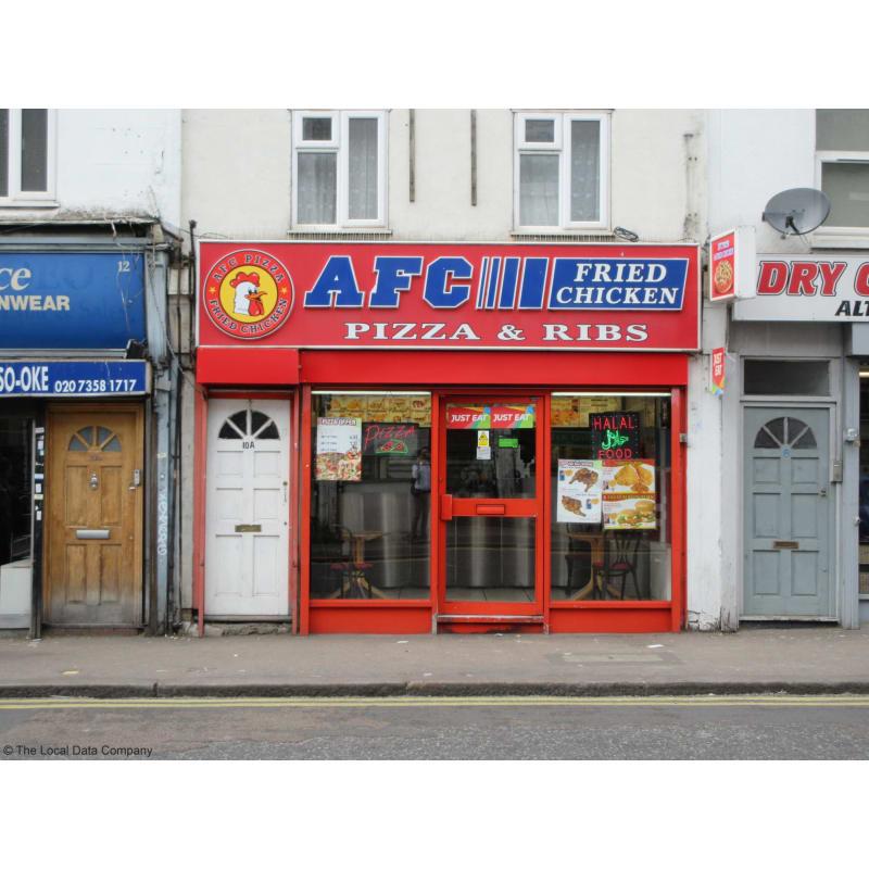 A F C Fried Chicken Pizza London American Restaurants
