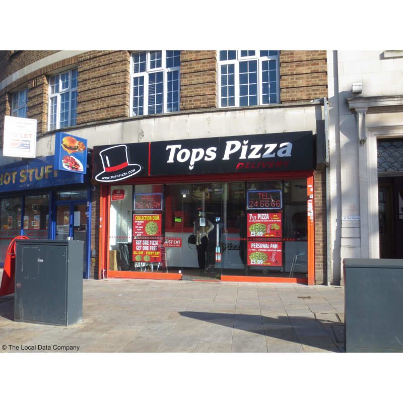 Tops Pizza Ltd Watford Pizza Delivery Takeaway Yell