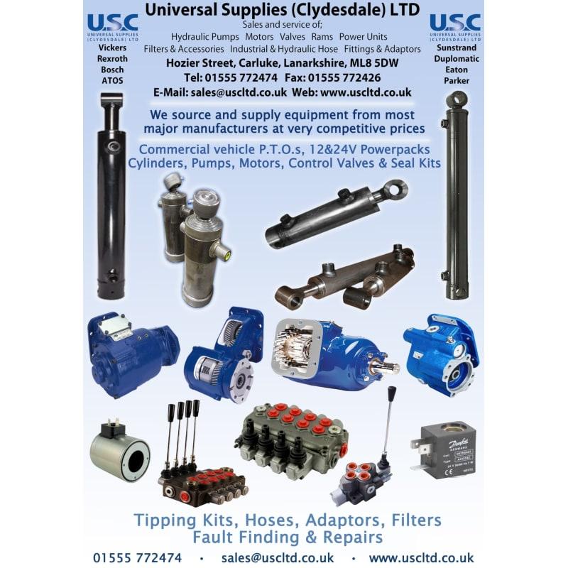 USC Hydraulics (Scotland), Carluke | Hydraulic Engineers - Yell