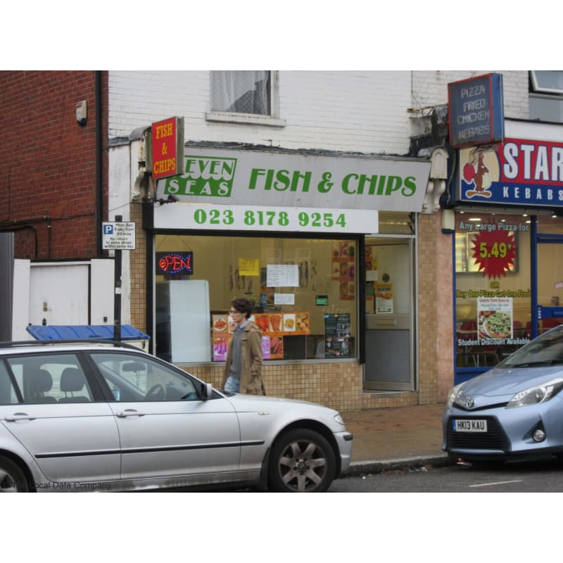 Image result for seven seas fish and chips southampton