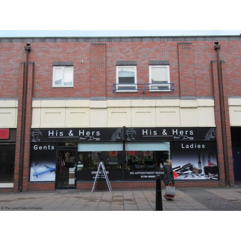 His Hers Barbers Salon Rotherham Barbers Yell