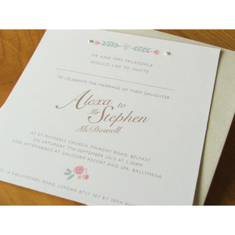 Forever Evelyn Wedding Stationery, Lisburn | Wedding Invitations - Yell