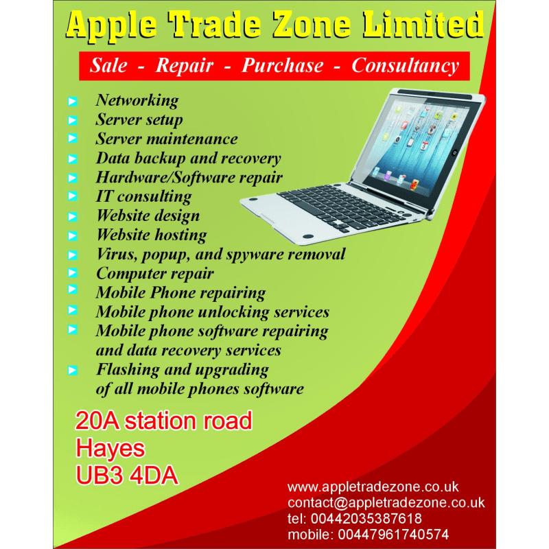 Apple Trade Zone Ltd, Hayes | Mobile Phone Repairs - Yell