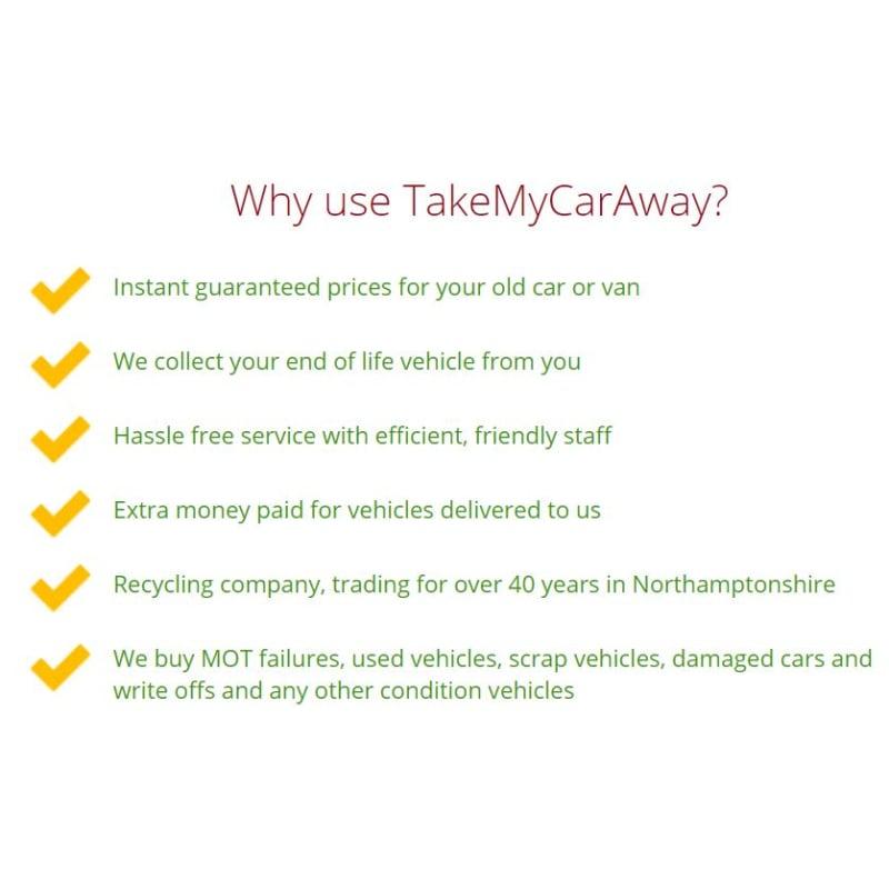 Take My Car Away, Wellingborough | Car Breakers - Yell