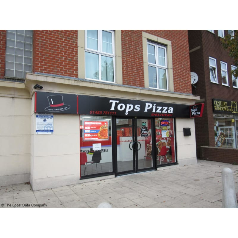 Tops Pizza Woking Food Drink Delivered Yell