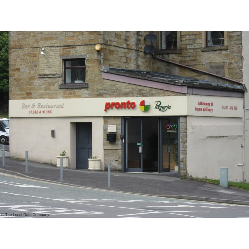 Pronto Pizza Burnley Pizza Delivery Takeaway Yell
