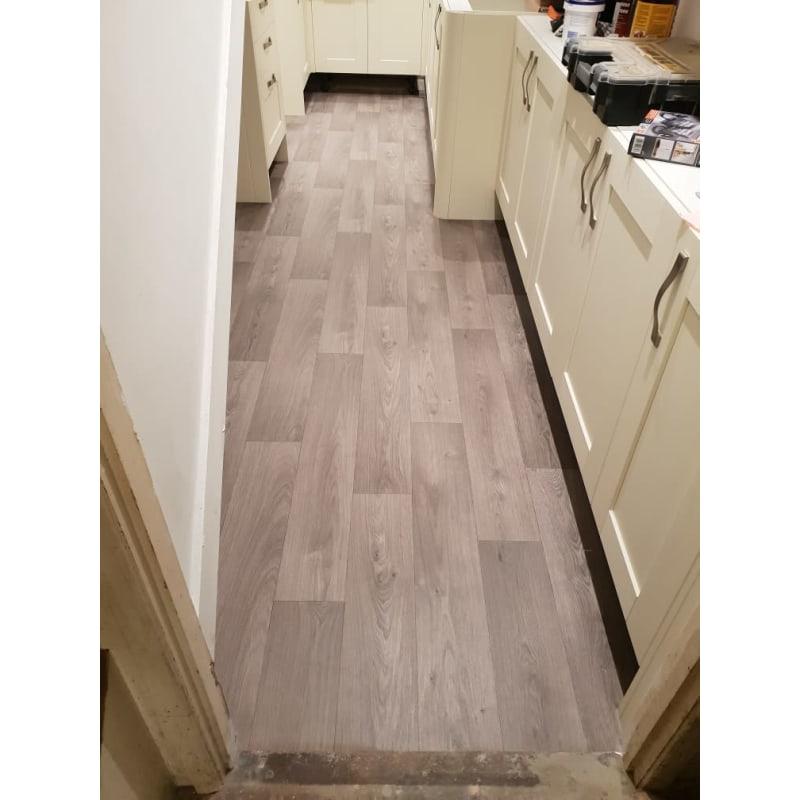 Arreton Grey Laminate Flooring, Wickes Arreton Grey Laminate Flooring 1 48m2