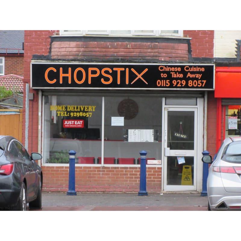 Chopstix Nottingham Fast Food Restaurants Yell
