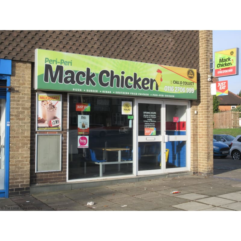 Peri Peri Mack Chicken Leicester Takeaway Food Yell