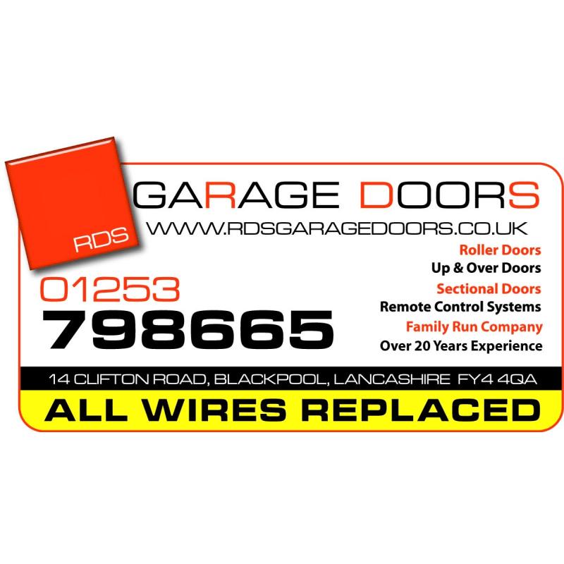 Rds Garage Doors Blackpool Garage Doors Yell
