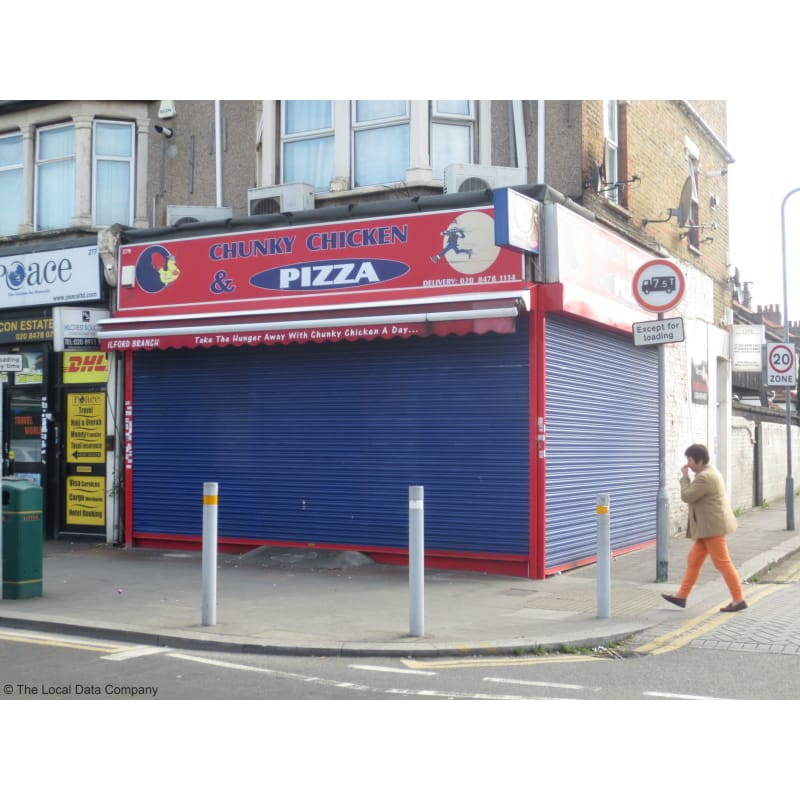 Chunky Chicken Pizza Ilford Pizza Delivery Takeaway