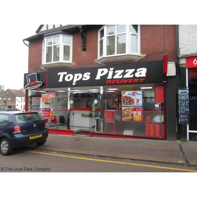 Tops Pizza Luton Pizza Delivery Takeaway Yell