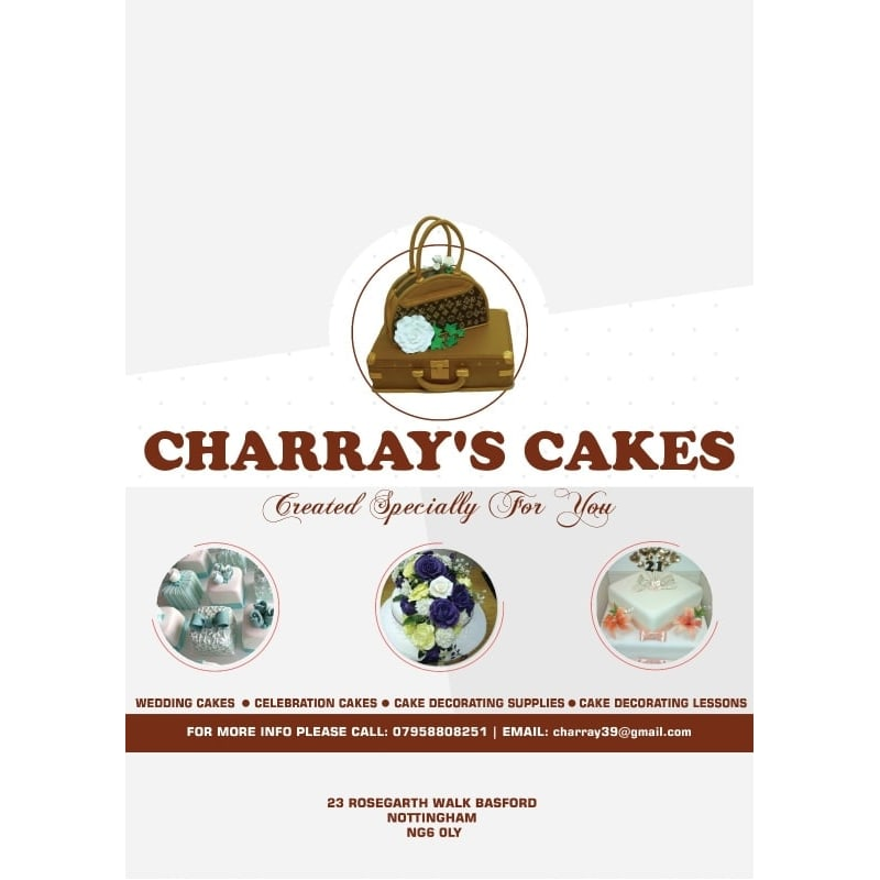 Charray S Cakes Nottingham Cake Makers Decorations Yell