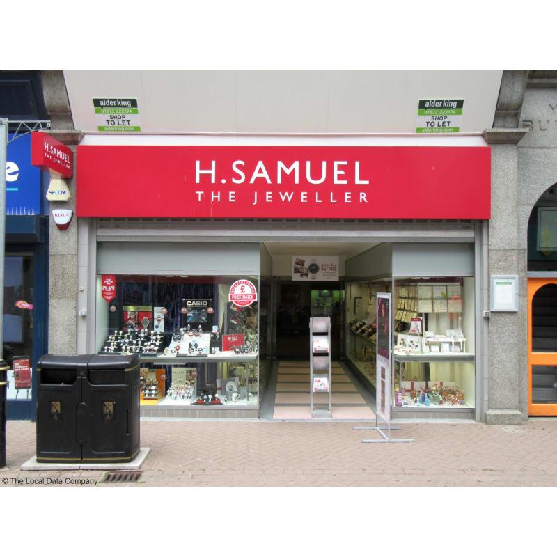 H.Samuel, Newquay   Jewellers - Yell