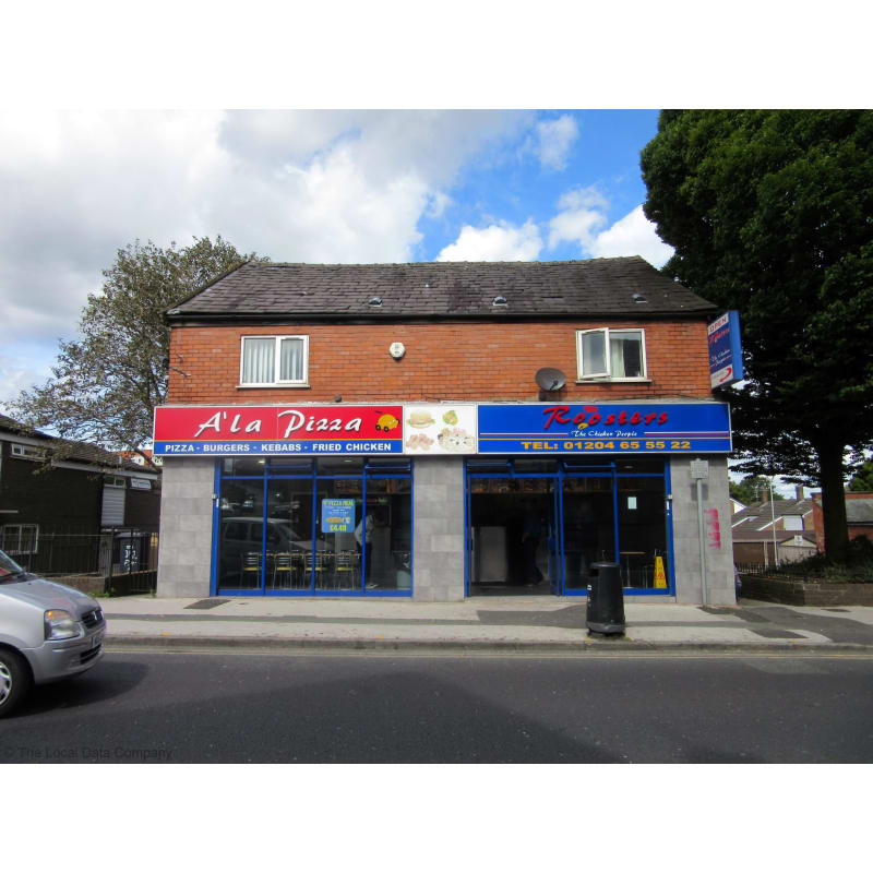 Ala Pizza Roosters Bolton Pizza Delivery Takeaway Yell