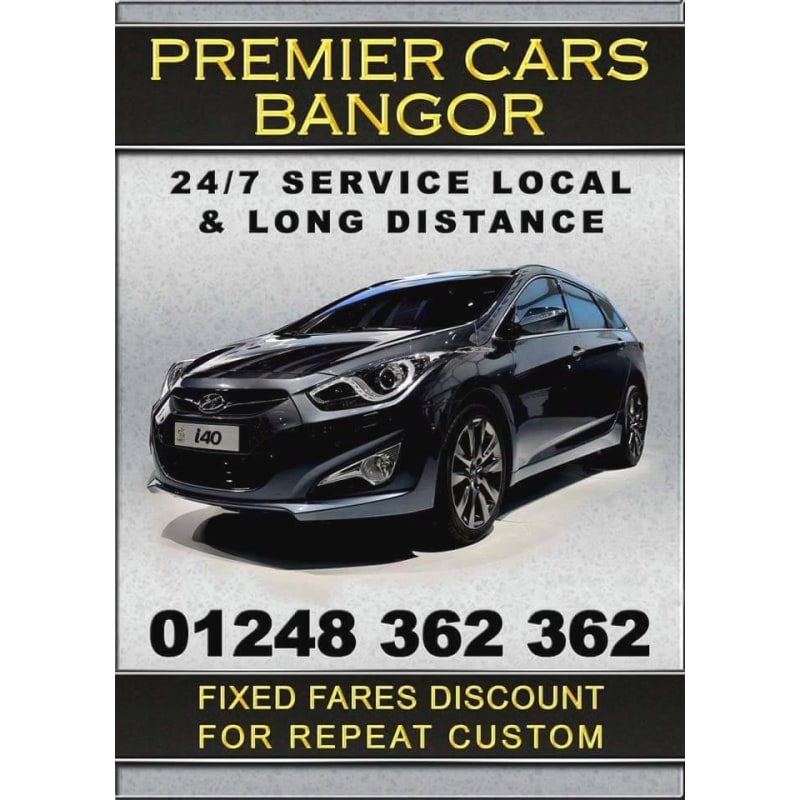 Premier Cars Bangor Taxis Private Hire Vehicles Yell