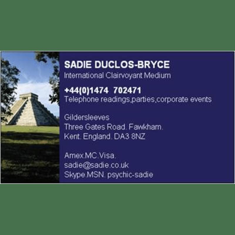 Psychic Sadie, Longfield | Psychics & Clairvoyants - Yell