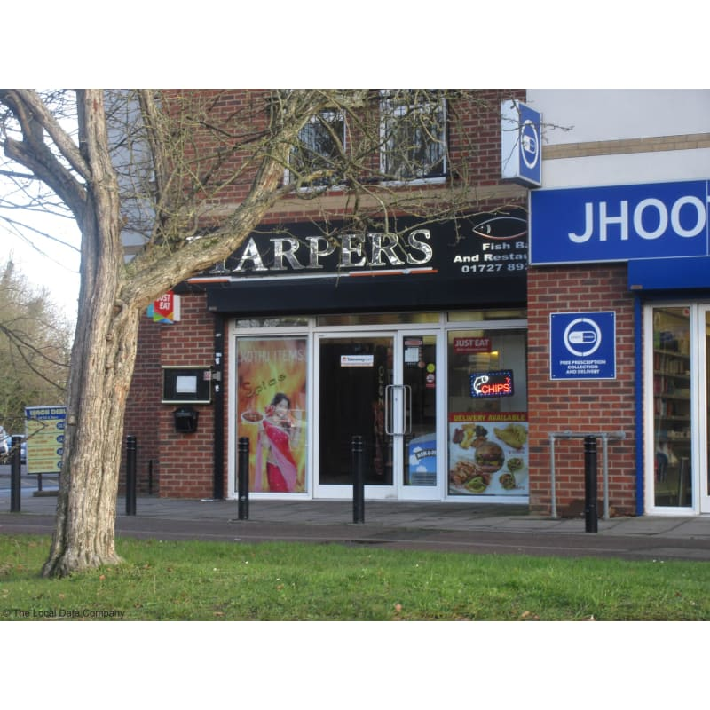 Harpers Kebab Fish Chips Shop St Albans Takeaway