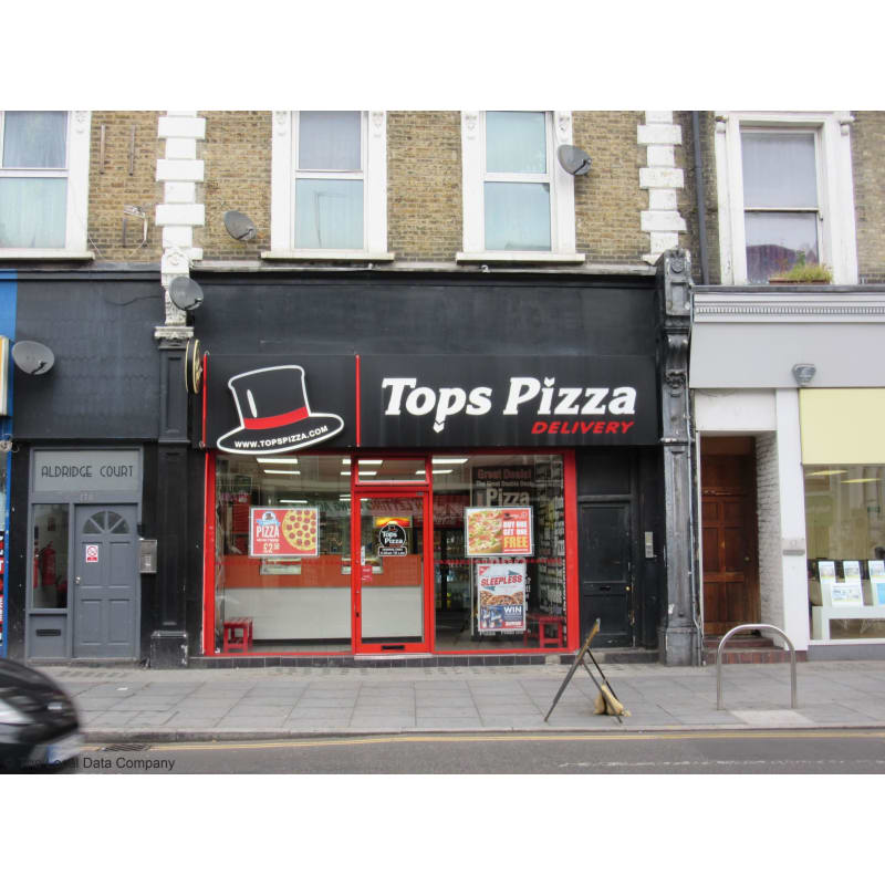 Tops Pizza London Pizza Delivery Takeaway Yell