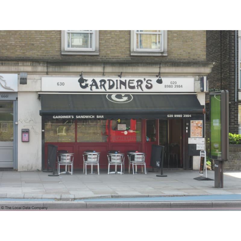Ungdommelig Gardiner's Cafe, London | Sandwich Shops - Yell QJ-57