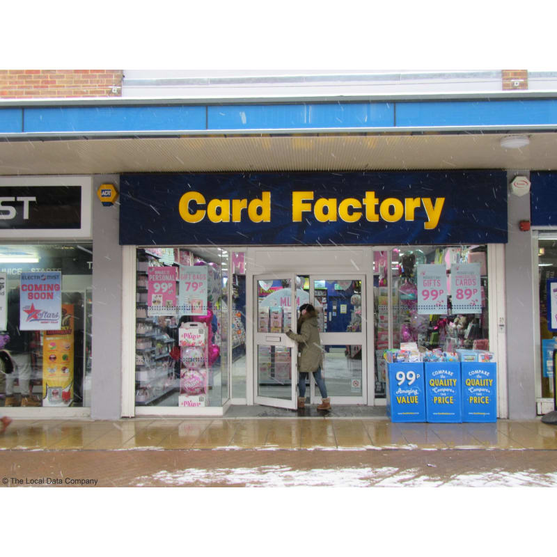 Card Factory Dunstable Greeting Card Shops Yell