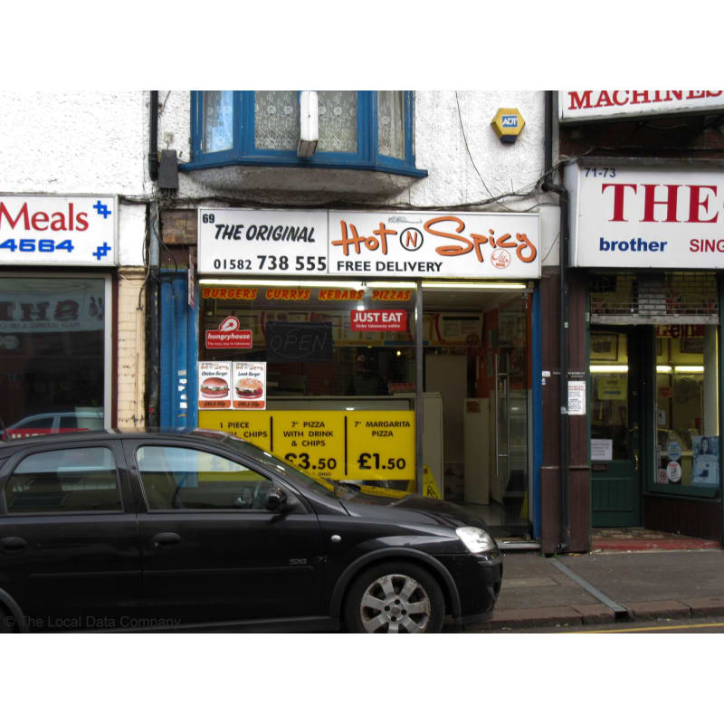 Hot Spicy Luton Takeaway Food Yell