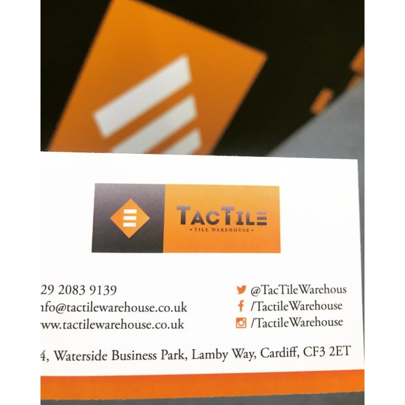TacTile Warehouse Ltd, Cardiff | Tile Suppliers - Yell