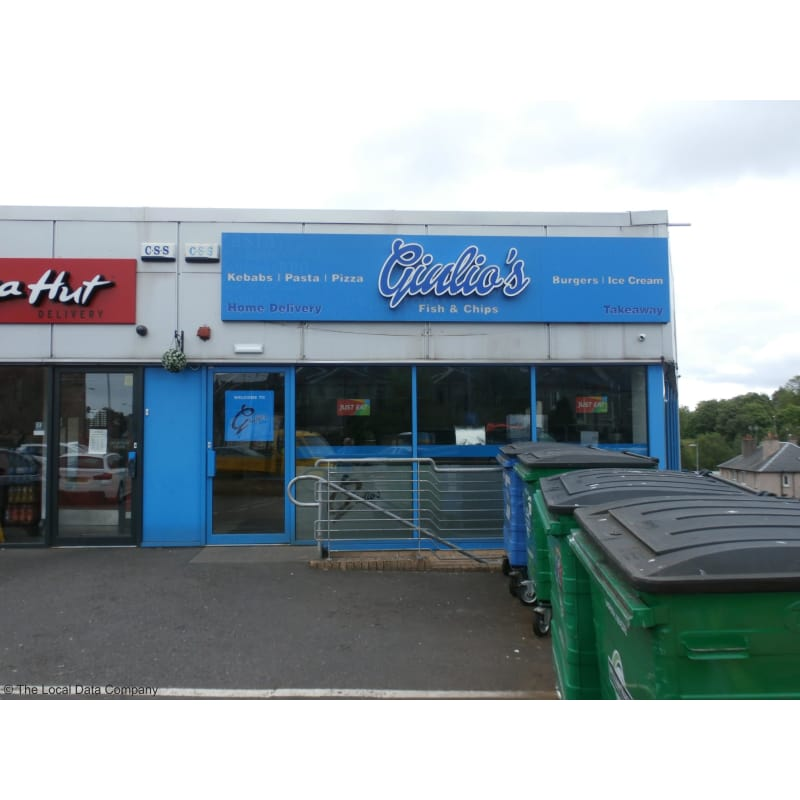 Giulios Falkirk Fish Chip Shops Restaurants Yell