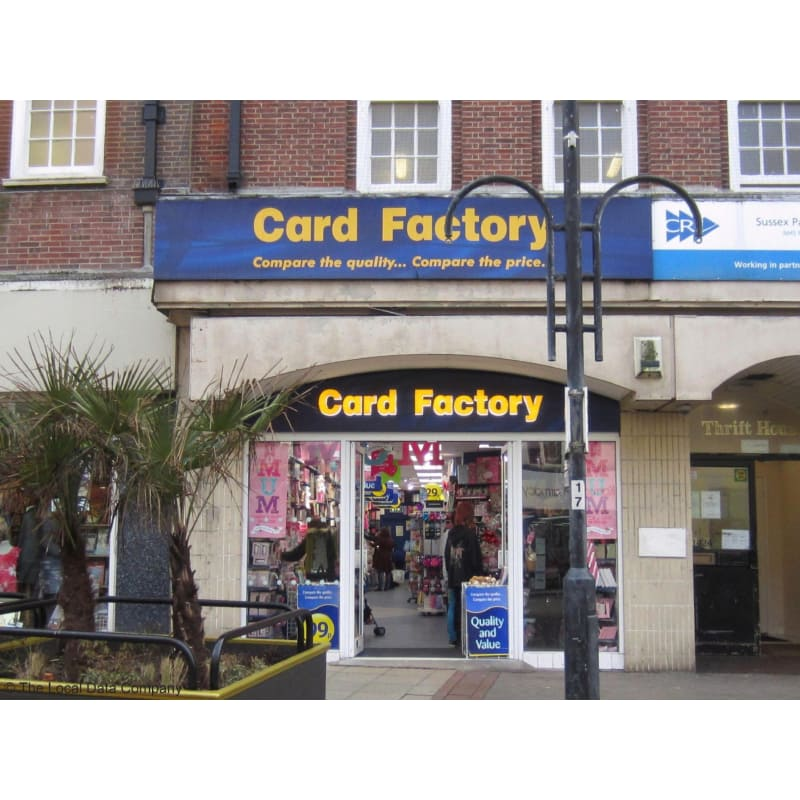 Card factory ltd hastings greeting card shops yell m4hsunfo