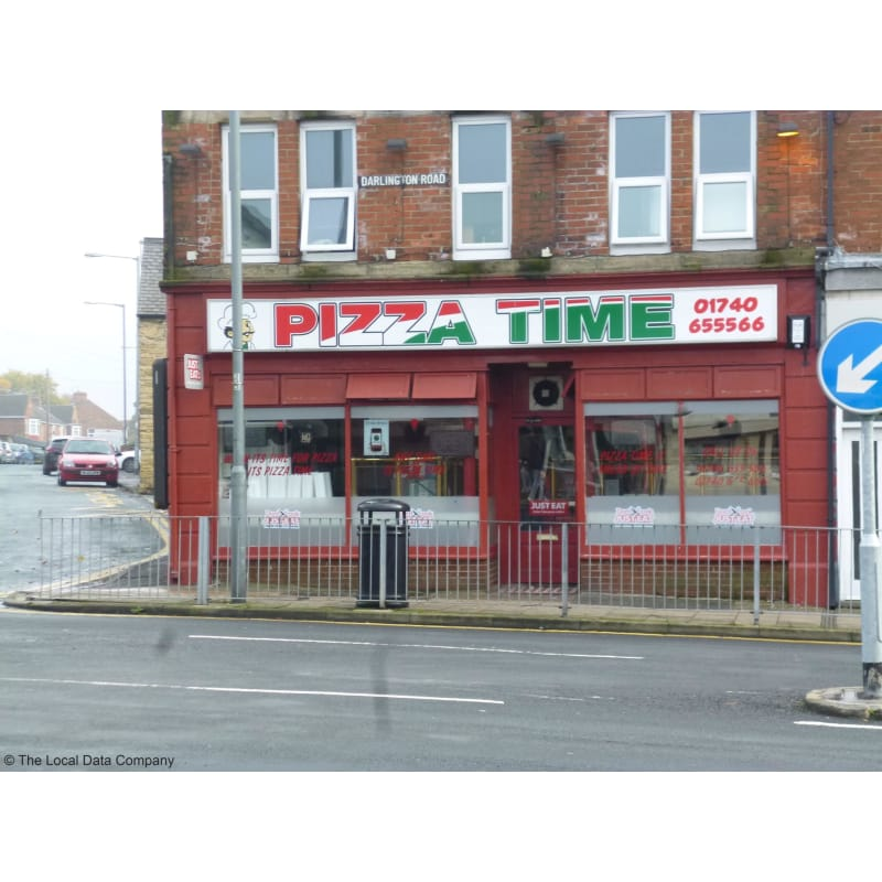 Pizza Time Ferryhill Pizza Delivery Takeaway Yell
