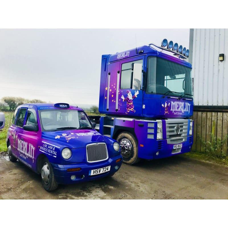 Merlin Vehicle Rental Newquay Van Hire Yell