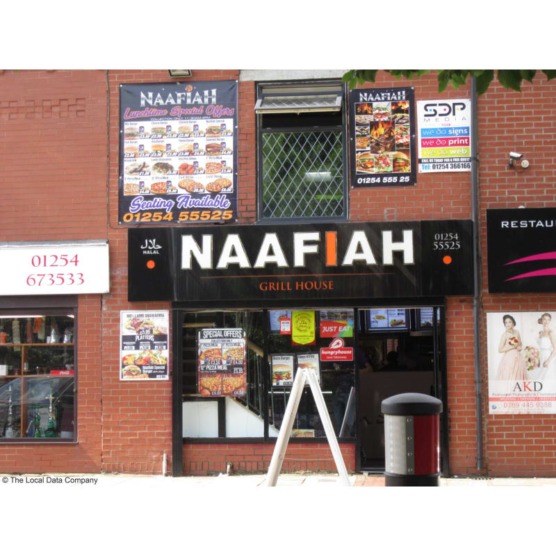 Naafiah Blackburn Takeaway Food Yell