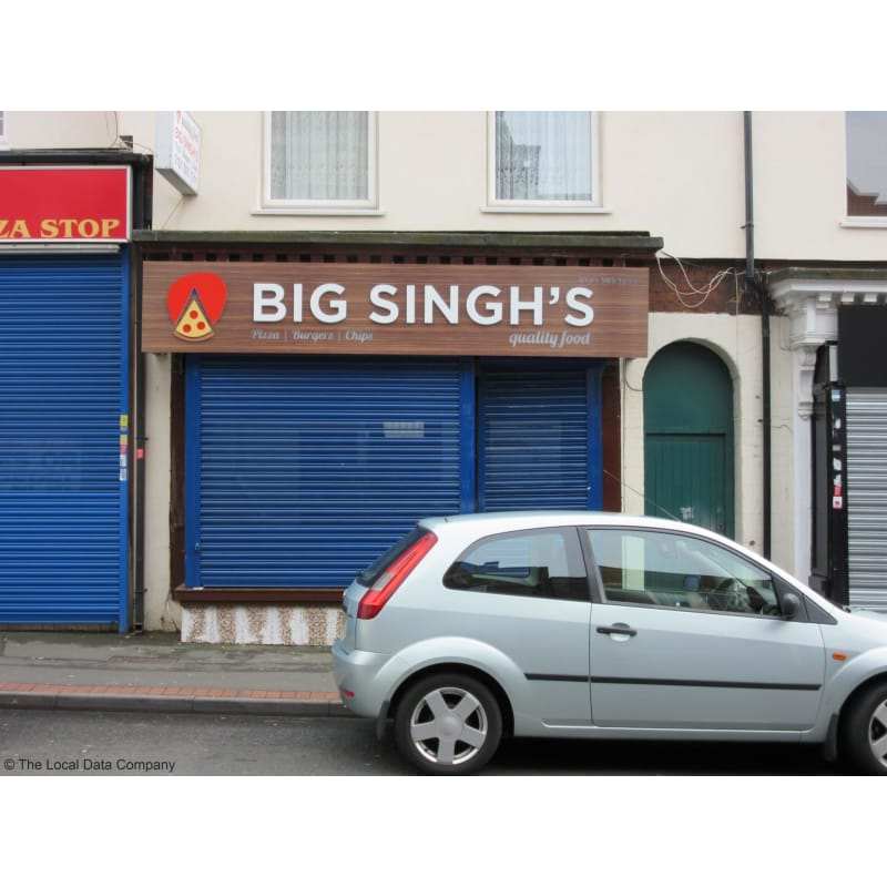 Big Singhs Pizza Wednesbury Pizza Delivery Takeaway Yell