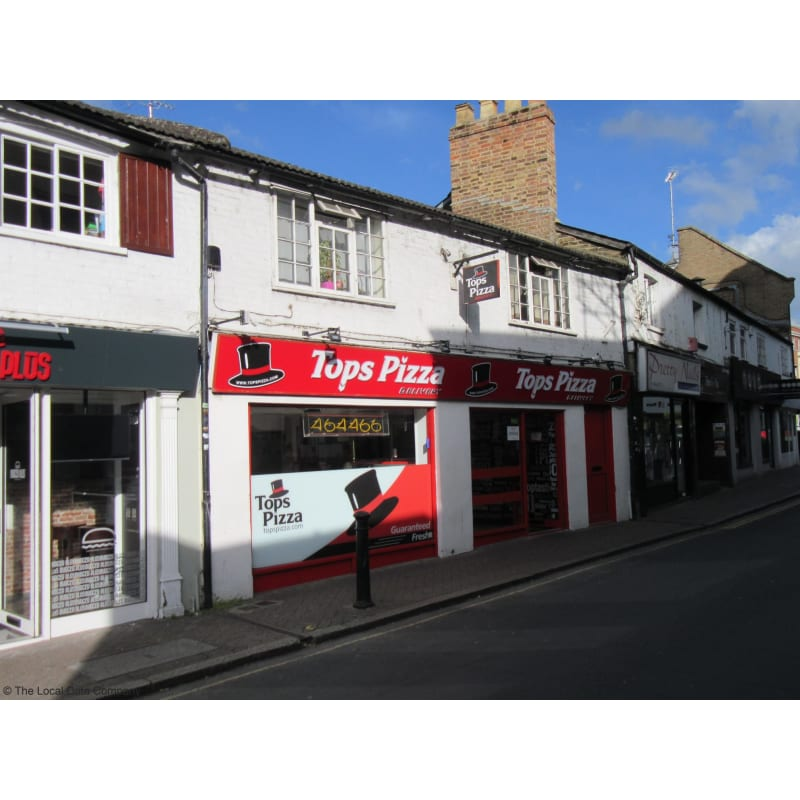 Tops Pizza Ltd Staines Upon Thames Pizza Delivery