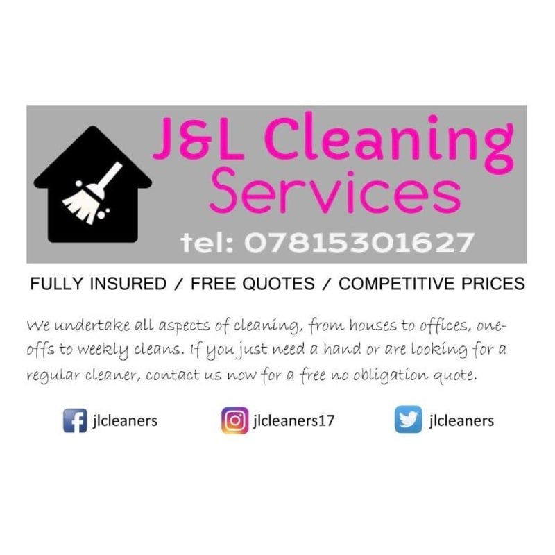 J&L Cleaning Services | Domestic Cleaning - Yell