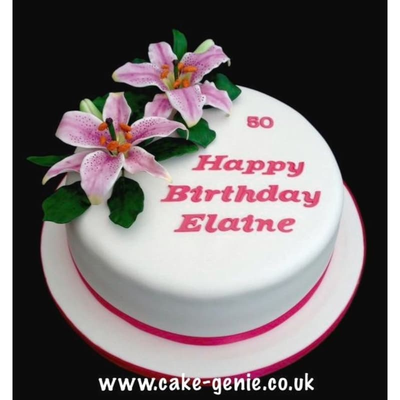 Cake Genie Cakes By Elaine Deeside Cake Makers Decorations Yell