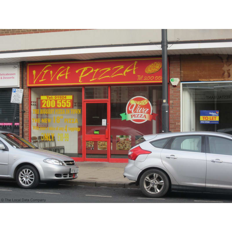 Viva Pizza Wakefield Pizza Delivery Takeaway Yell