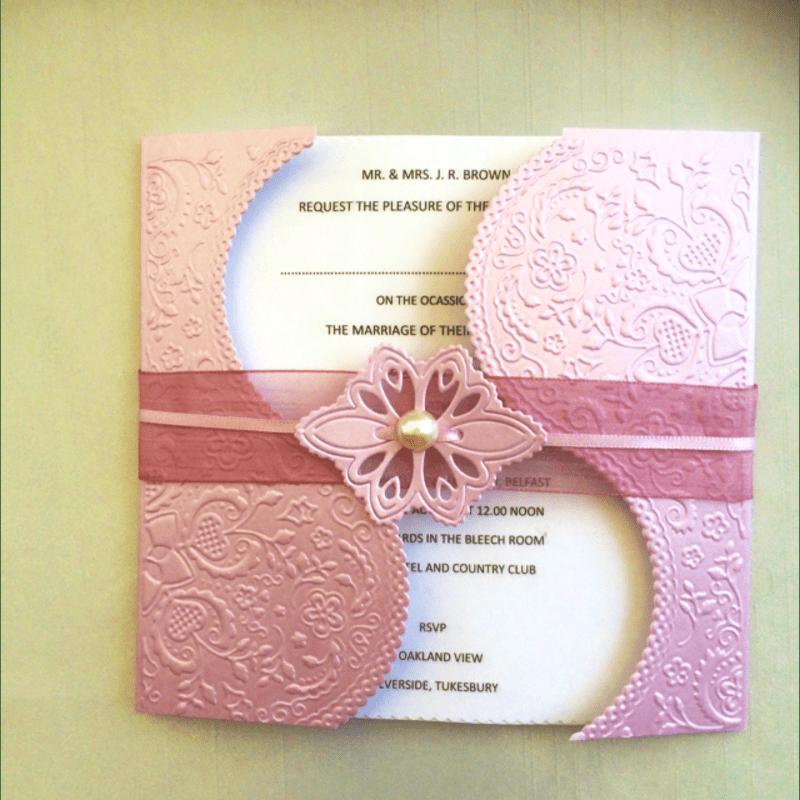 Craftulations Wedding Stationery Carrickfergus Wedding Stationery Yell