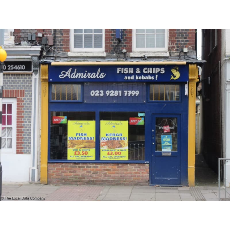 Admirals Fish Chips Portsmouth Fish Chip Shops