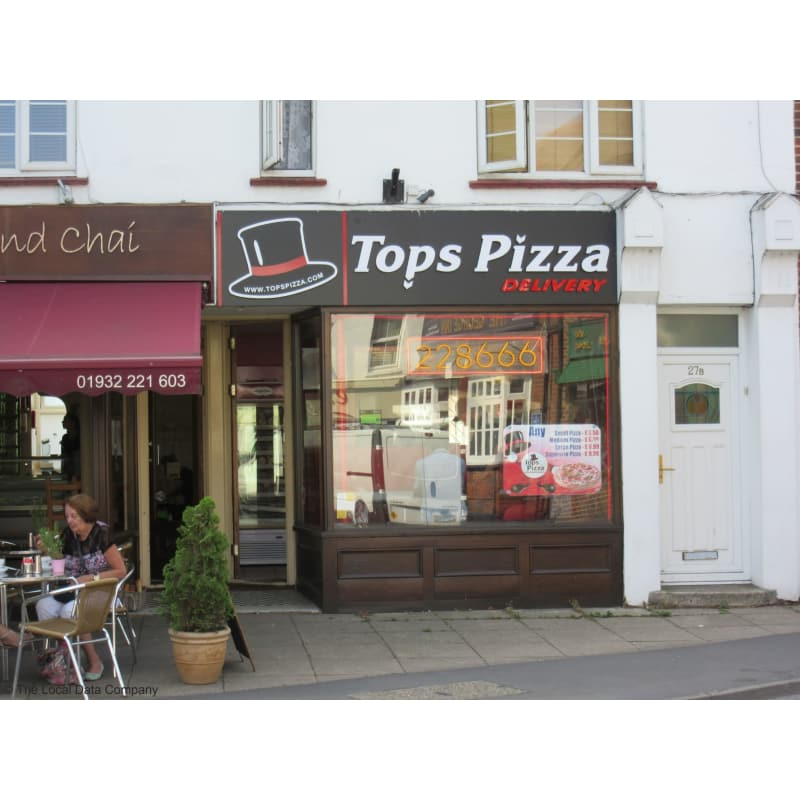 Tops Pizza Walton On Thames Pizza Delivery Takeaway Yell